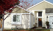 Flame Resistance James Hardie Fiber Cement Siding vs. Vinyl Siding & Wood Siding